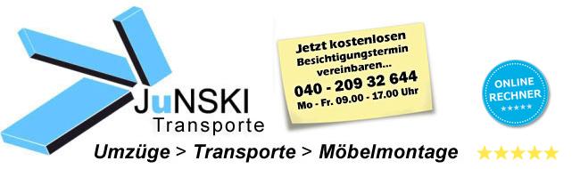 Logo der Firma Junski Transporte und Umzüge in Hamburg